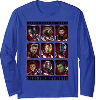 Marvel Avengers Endgame Mightiest Heroes Stack Manche Longue