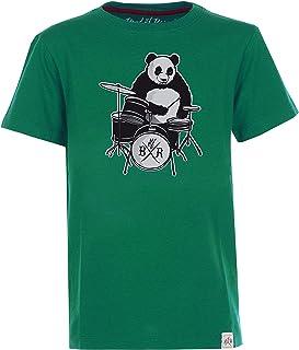 Band of Rascals Kurzarm Panda T-Shirt aus 100% Bio-Baumwolle