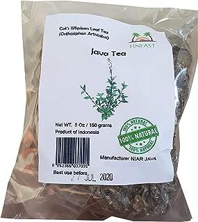 FINFAST Dried Java Tea Leaf/Cat Whiskers' (Orthosiphon Aristatus) 5 oz (150 Grams)