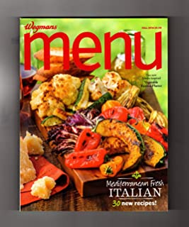 Wegmans MENU Magazine / Fall 2014 - Cuisine, Cookbook Recipes