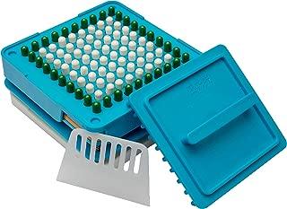 Capsule Filler Filling Machine - Multi Purpose Capsule Holder - Easy Instruction Manual. 100% Filling of Size 00 Empty Gelatin Veggie Capsules. Herbs, Vitamins, Supplement and Essential