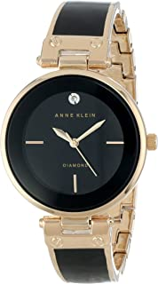 Anne Klein Casual Watch For Women Analog Metal - AK1414BKGB