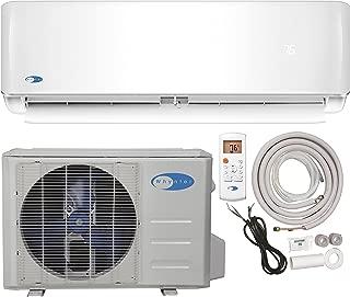 Whynter Mini Split Inverter System & Heat Full Set SEER 17 12000 BTU 115V Ductless Air Conditioner and Heat Pump
