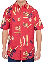 Scarface Tony Montana Hawaiian Adult Costume Button Up Shirt