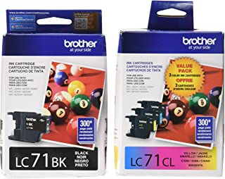 Brother LC71 Standard Yield Ink Cartridge Set