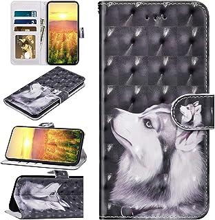 Compatible con Samsung Galaxy A41 Funda con Dibujo 3D Patrón Libro Caso Cubierta Tapa Magnética Protector Billetera Cuero ...