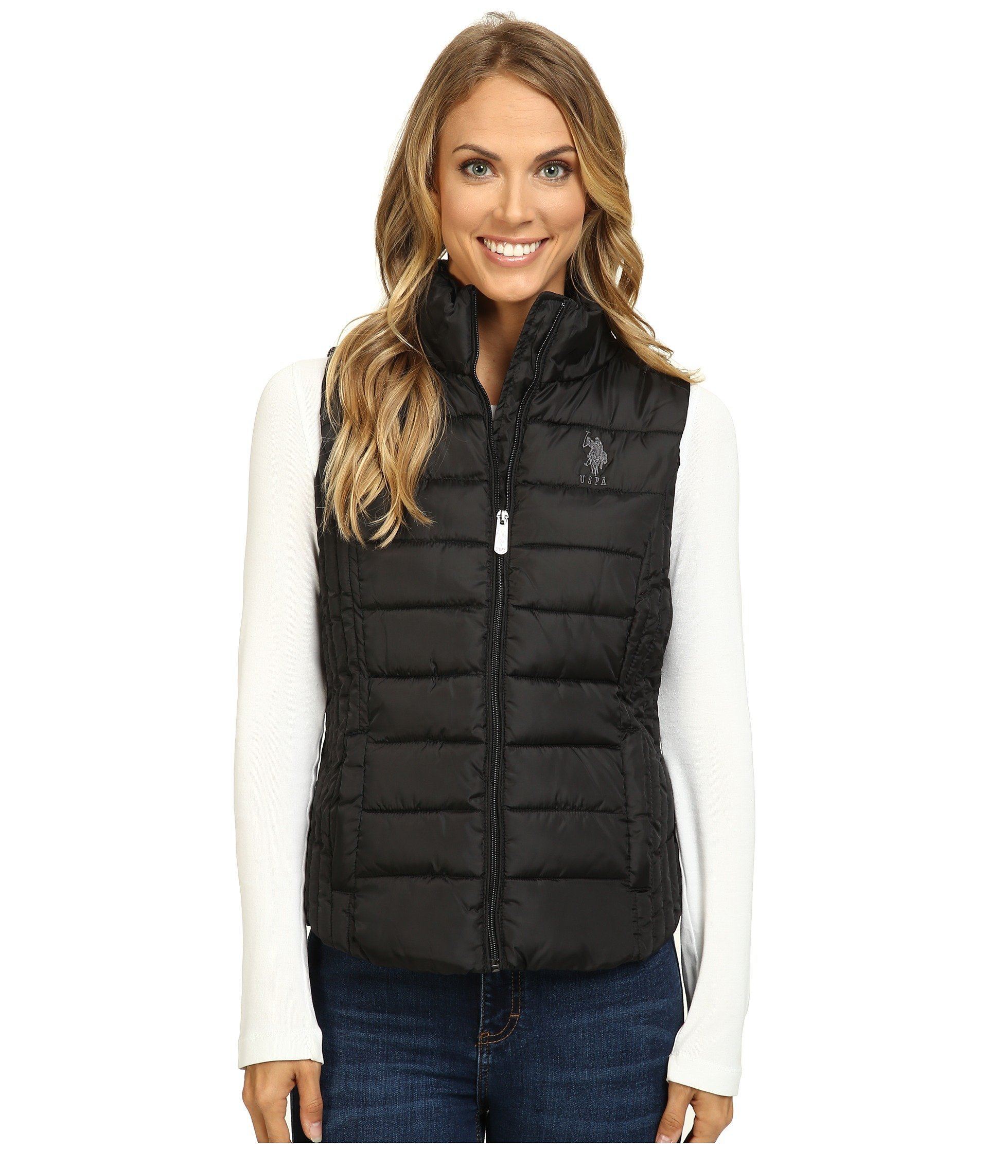 U.S. POLO ASSN. Quilted Vest at 6pm : polo quilted vest - Adamdwight.com