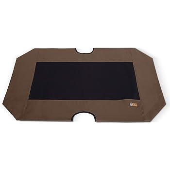 K&H PET PRODUCTS Original Pet Cot Replacement Cover Medium Chocolate