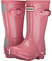 Hunter Kids - Original Kids' Glitter Finish Wellington Rain Boots (Toddler/Little Kid)
