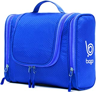 Bago Hanging Toiletry Bag For Women & Men - Travel Bags for Toiletries/Leak Proof/Hanging Hook/Inner Organization to Keep Items From Moving - Pack Like a PRO