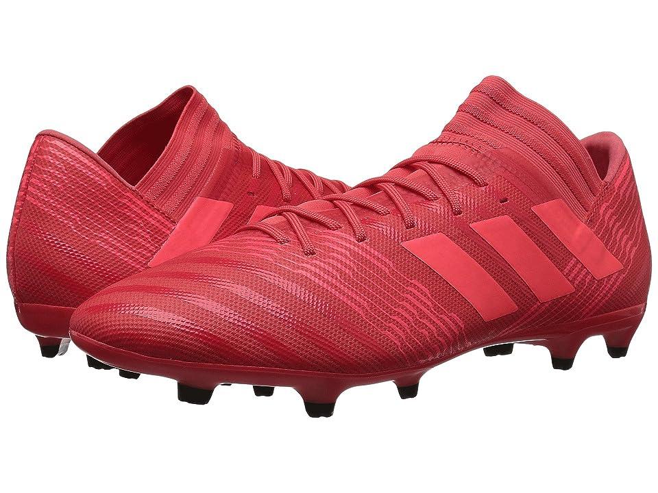 adidas Nemeziz 17.3 FG (Real Coral/Red Zest/Black) Men