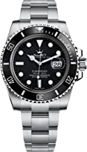 Luxury High End Swiss updated REP V7 Crown Iconic homage SUB Automatic Asian 2836 movement 904L Stainless Steel Ceramic Bezel