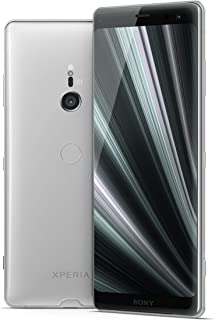 "Sony Xperia XZ3 Unlocked Smartphone, 64GB - 6.0"" OLED Screen - White Silver (US Warranty) [Phone ONLY Version]"