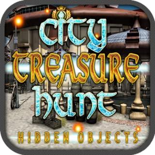 City Treasure Hunt Hidden Objects Quest Game App