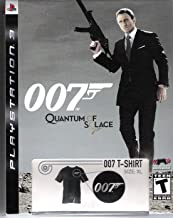James Bond 007 Quantum of Solice with Limited Edition 007 T-Shirt (PS3)