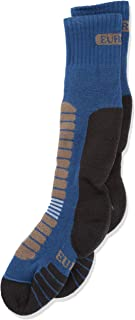 Eurosocks Junior Board Supreme Socks, Tailored For Children, Padded, Flat Toe Seams, Micro Supreme Warmth-0912J