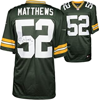 Clay Matthews Green Bay Packers Autographed Nike Green Limited Jersey - Fanatics Authentic Certified