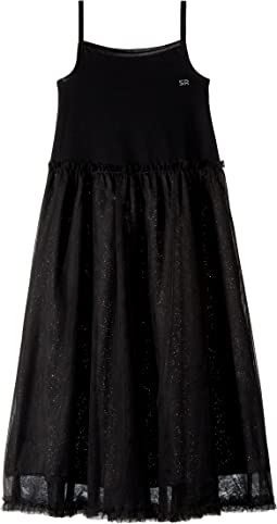 Agnes Maxi Dress w/ Tulle Skirt (Little Kids/Big Kids)