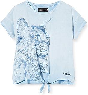 Desigual TS/_pensilvania T-Shirt Bambina