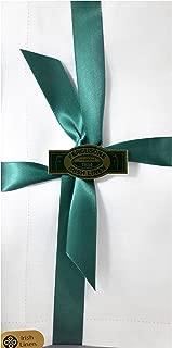 Thomas Ferguson - Gentlemen's BH133 White Hemstitched Irish Linen Handkerchief - Pack of 3 in Gift Box
