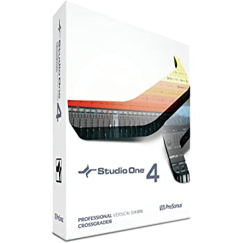 PreSonus DAWソフトウェア Studio One 4 Crossgrade 日本語版(ボックス)