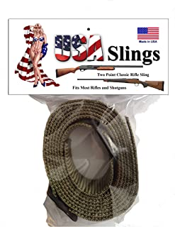2 Point Rifle Sling Classic Traditional Sling