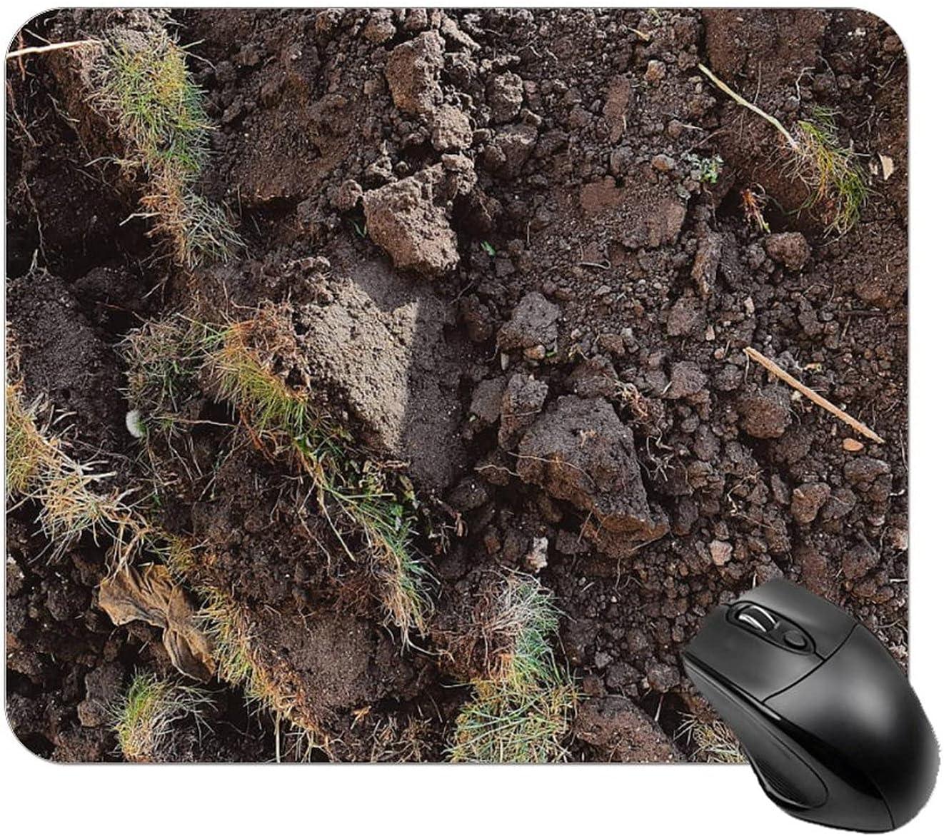 Brown Soil Mouse Genuine Pad Personalized Design Max 65% OFF Square Rubber Non-Slip
