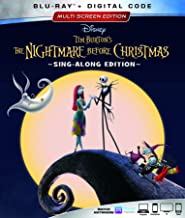 NIGHTMARE BEFORE CHRISTMAS, THE (TIM BURTON'S) [Blu-ray]