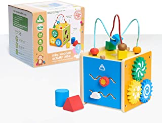 Early Learning Centre Mini Wooden Activity Cube, Amazon Exclusive