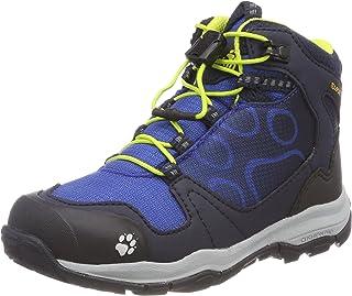 Jack Wolfskin AKKA TEXAPORE MID B Wasserdicht, Jungen Trekking- & Wanderstiefel, Blau (vibrant blue), 32 EU (13 UK)