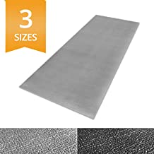 Ergocell Kitchen Anti Fatigue Mat - Memory Foam Kitchen Mat | Ergonomically Engineered Standing Desk Mat for Promoting Comfort at Home & Office | Two Colors Available | Grey – 24