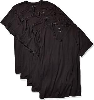 Calvin Klein Mens Cotton Classics Multipack V Neck T-Shirts