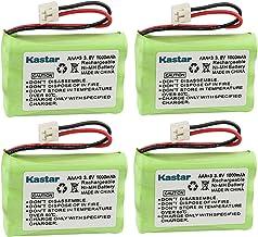 Kastar 4-Pack AAA 3.6V EH 1000mAh Ni-MH Battery for Motorola MD-4260/7101/7151/7161/7251//261/761/781/791/7101/7151/7161 SD4501/4502/4550/4551/4561/4581/D4591 SD7500/7501/7502/7561/7581 etc.