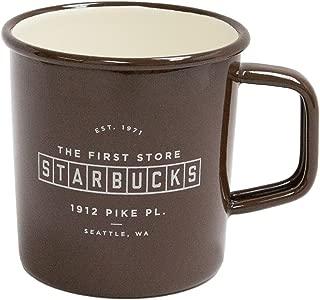 Starbucks Coffee Pike Place Enamel Mug, 14oz