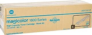 Best Konica Minolta High Capacity Black Toner Cartridge, 2500 Yield (A0V301F) Reviews