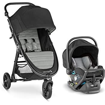 Car Seat Adapter and Bonus Baby Gear Xpo Stroller Hook!!! Steel Gray City GO Car Seat 2018 Baby Jogger City Mini Travel System Complete with City Mini Gt Stroller