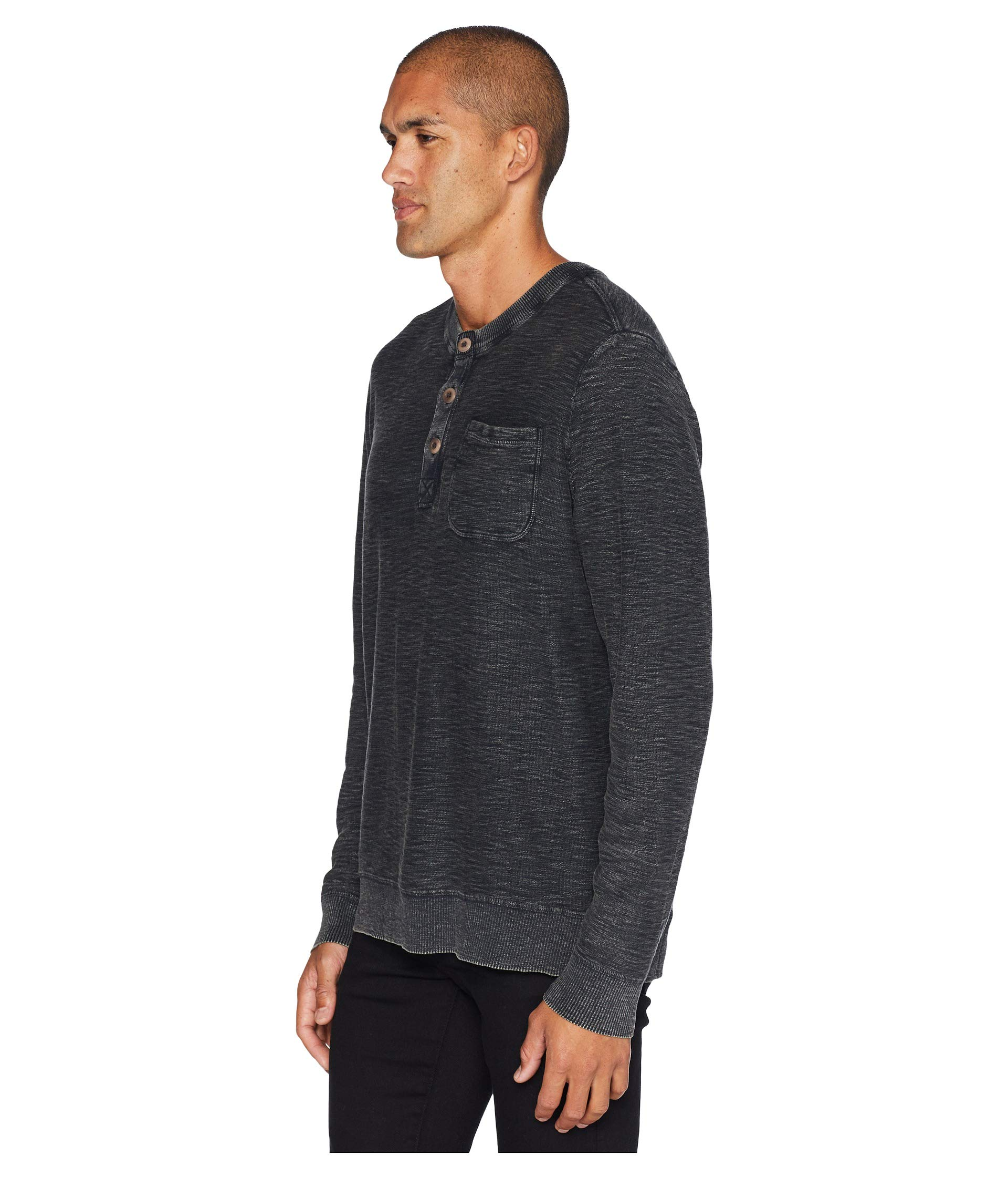 Brand Lucky Jet Washed Welter Black Weight Henley 6ddBOq