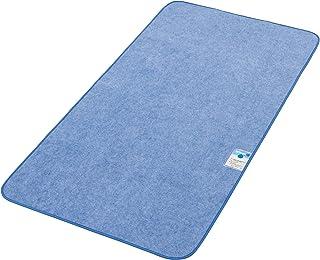 西川リビング からっと寝 調湿シート ブルー シングル 90×180cm
