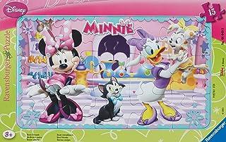 Ravensburger - 060498 - Puzzle avec Cadre - Minnie - 15 Pièces
