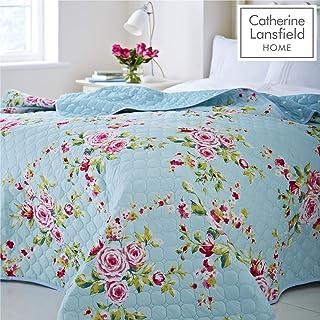 Catherine Lansfield Canterbury Easy Care Bedspread Multi, 240x260cm