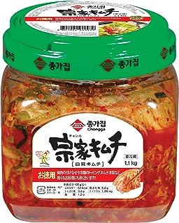 キムチ 韓国キムチ 韓国食品 きむち kimchi 韓国 業務用 김치 ご飯のお供 ごはんのおとも 大象ジャパン直営 「クール便」 宗家 キムチ 1.1kg 1個
