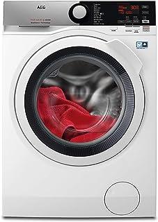 AEG L7WEE861 Lavasecadora de Libre Instalación, Carga Frontal, Lavadora 8 Kg, Secadora 6 Kg, 1600 rpm, Serie 7000, Motor I...