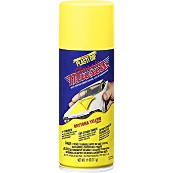 Performix 11305 Daytona Yellow Classic Muscle Car Rubber Coating, 11 oz