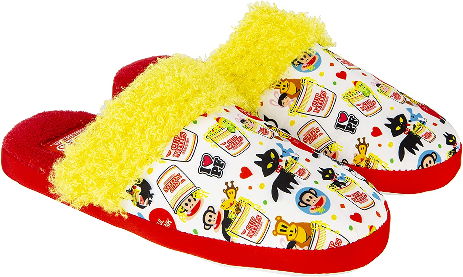 Paul Frank & Cup Noodles Soft Slippers