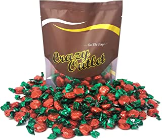 CrazyOutletPack - Primrose Strawberry Flavored Hard Candy, Individually Wrapped, 2 lbs