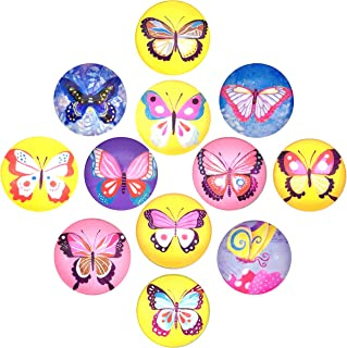 NHW 12 packs butterfly pattern fridge magnet set office cabinet whiteboard photo calendar decorated refrigerator home decoration magnet (24)