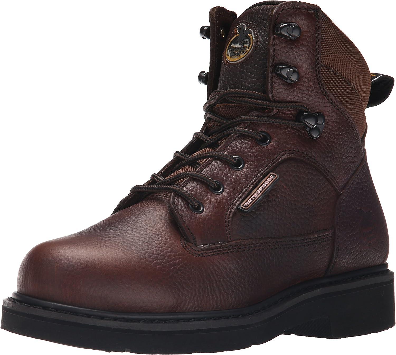 Georgia Boot Men's Georgia Glennville 6  Work Boot Work shoes