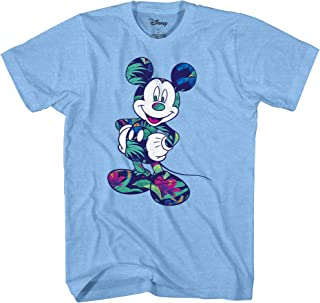 Disney Mickey Mouse Tropical Mint Green Disneyland World Tee Funny Humor Adult Mens Graphic T-Shirt Apparel
