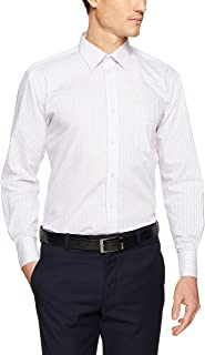 Van Heusen Men's Classic Relaxed Fit Grid Shirt, Lilac, 44