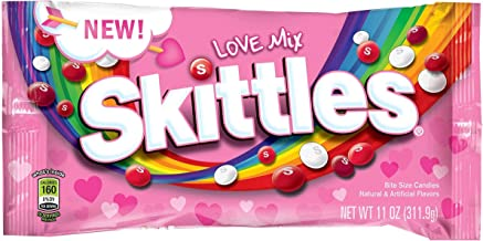 Skittles Love Valentines Mix 11 Ounce Bag - Pack of Two